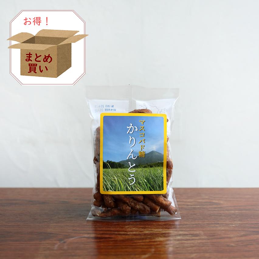マスコバド糖かりんとう(18袋入り)【送料無料/倉庫直送】