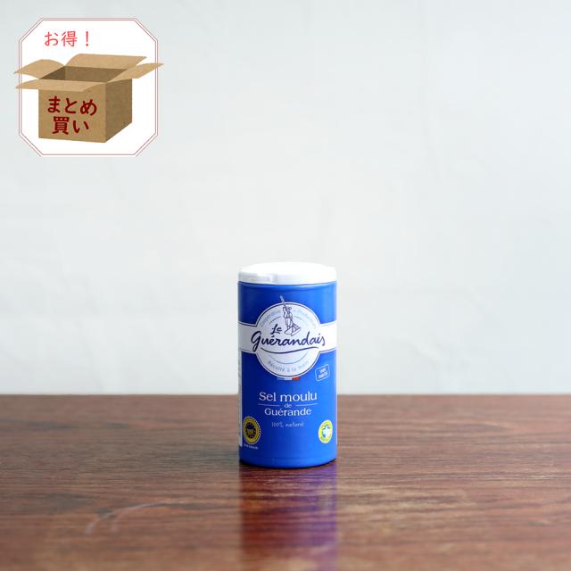 ゲランドの塩 細粒塩125g 【送料無料/倉庫直送】