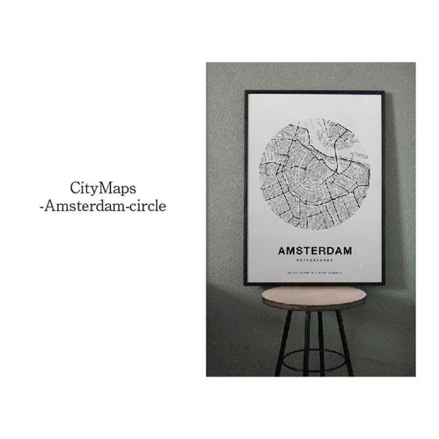 CityMaps-Amsterdam-circle
