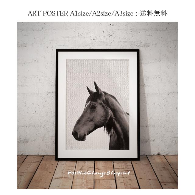 Horse BW