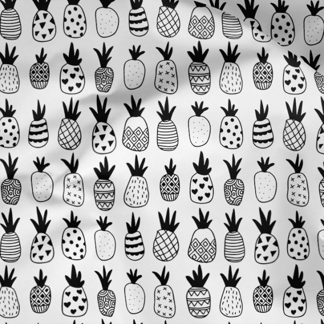 LSS_Pineapples-in-a-row-BW
