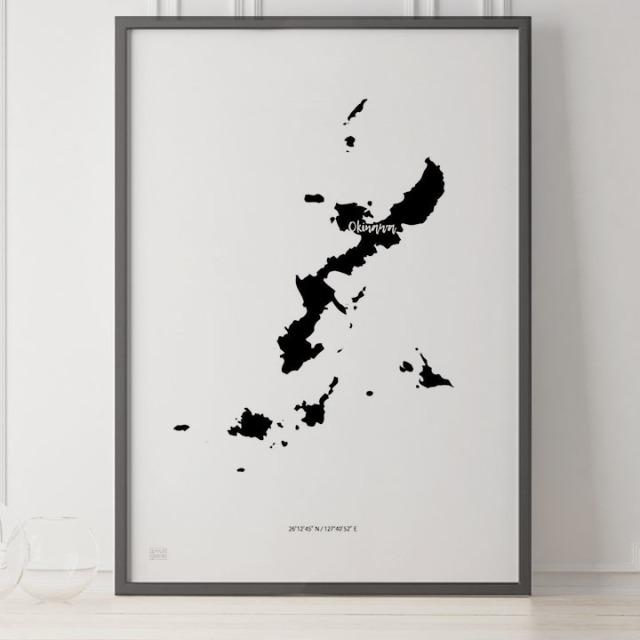 -Japan Map Poster-沖縄