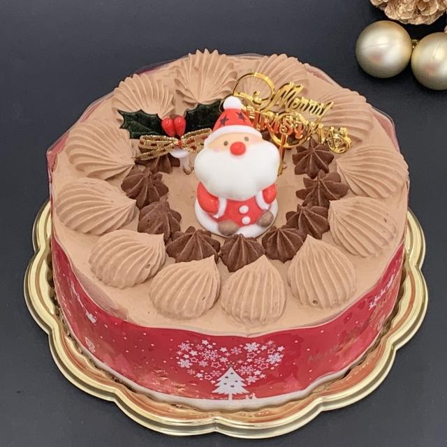 デコレーションケーキ(チョコ)