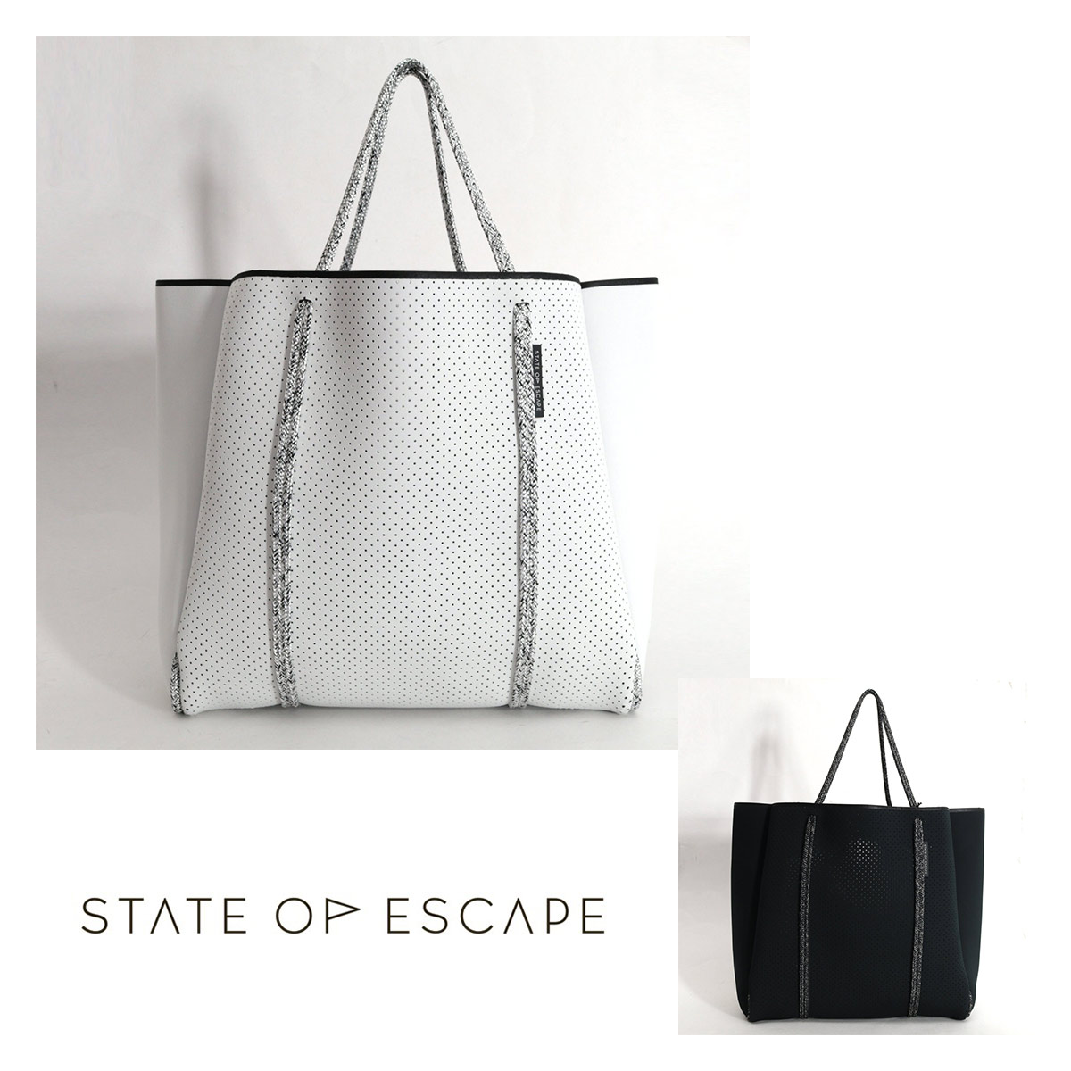 STATE OF ESCAPE CITYSCAPE MII トートバッグ