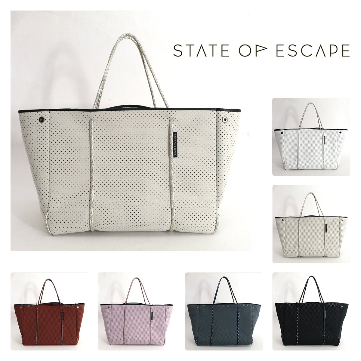STATE OF ESCAPE ESCAPE CARRYALL トートバッグ