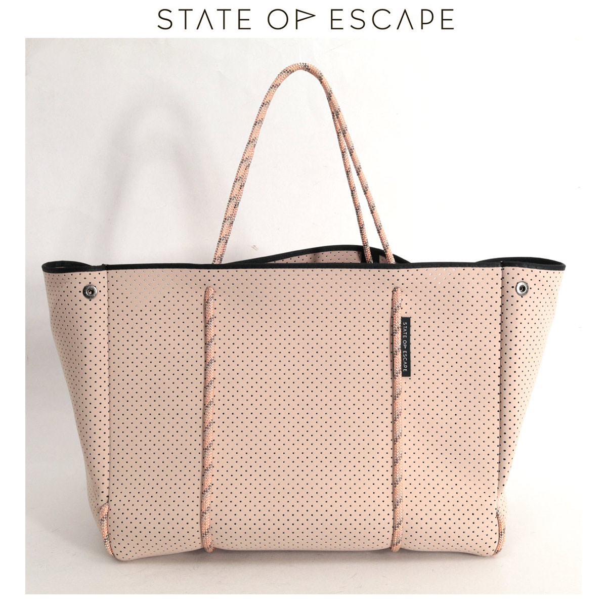 STATE OF ESCAPE ESCAPE CARRYALL (blush) トートバッグ