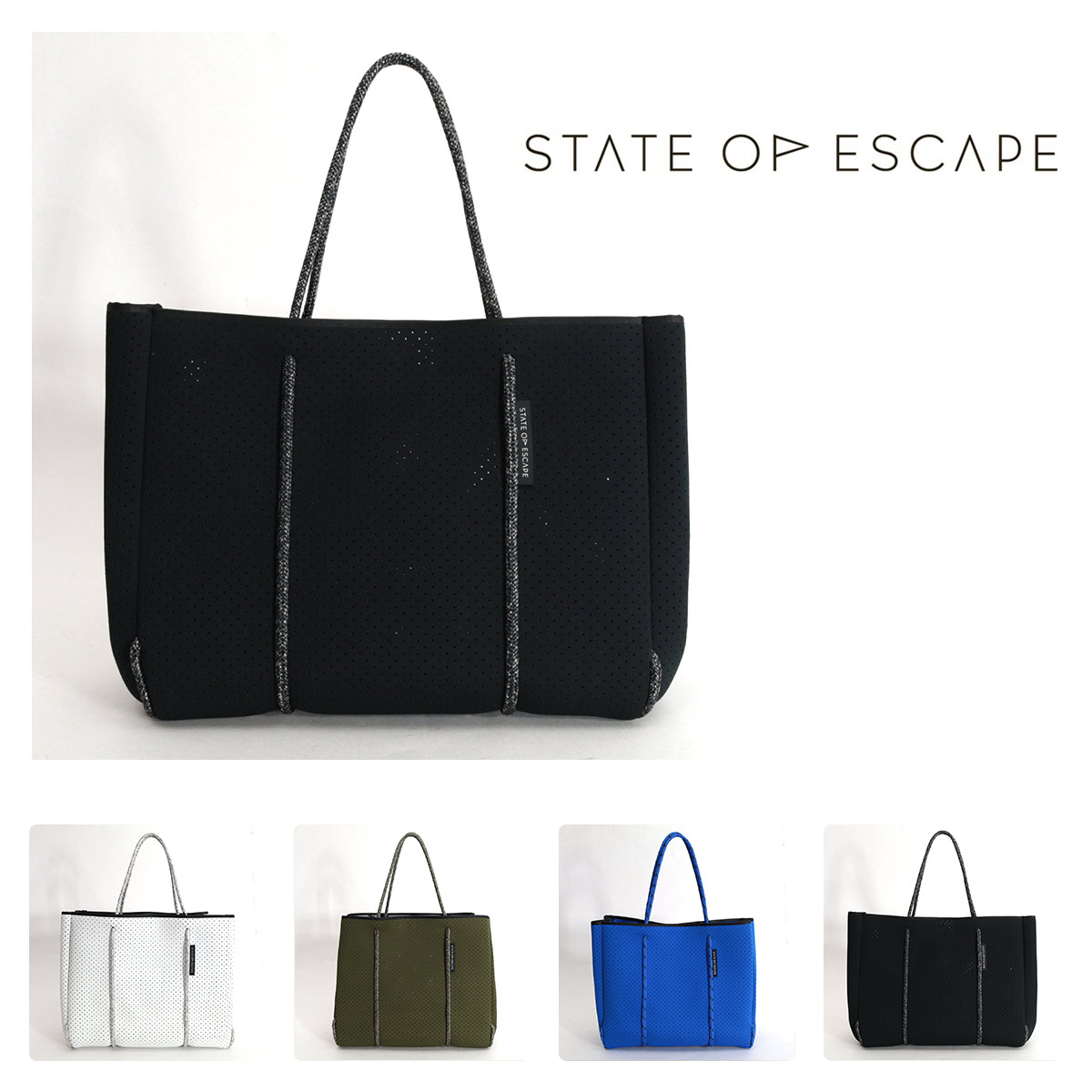STATE OF ESCAPE Flying Solo トートバッグ