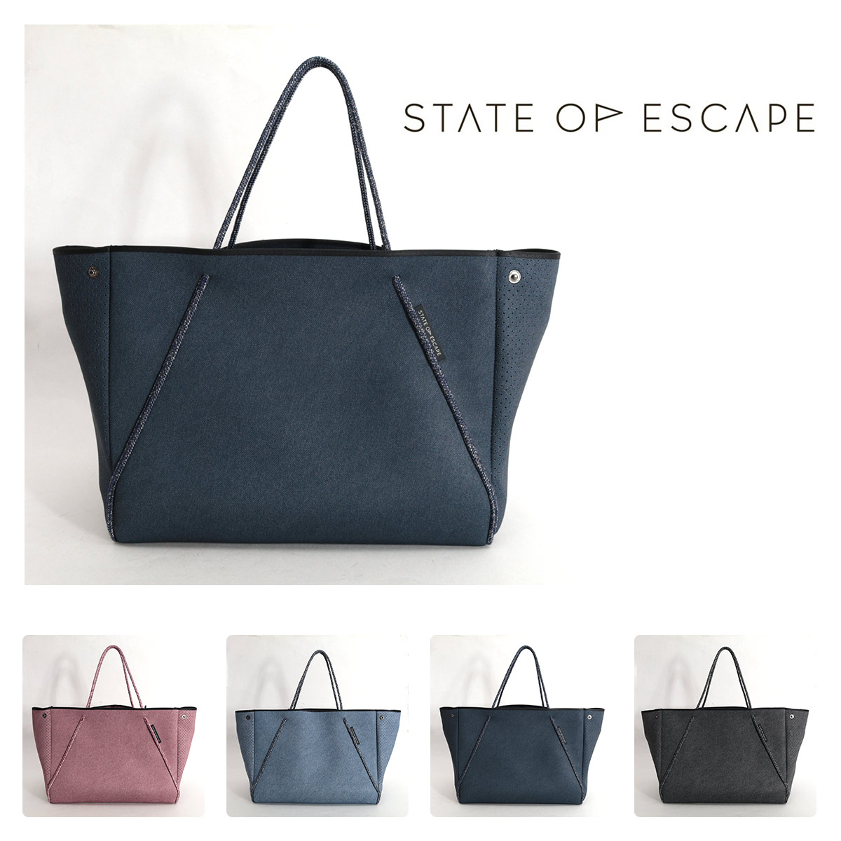 STATE OF ESCAPE GUISE CARRYALL トートバッグ