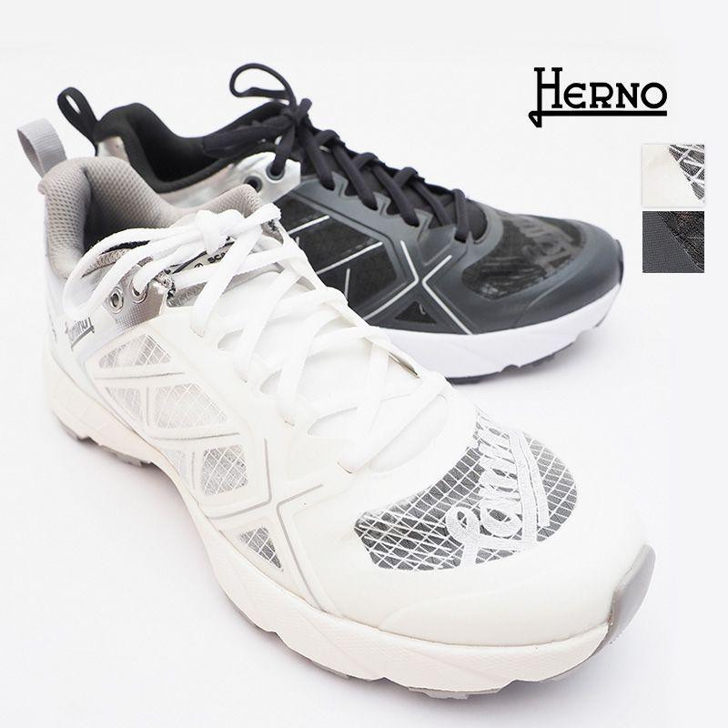 【正規品】HERNO ヘルノ × SCARPA SH002DL-SHOE ラミナースケルトンスニーカー メッシュ ランニングシューズ  ウォーキングシューズ   21SS シューズ 春夏