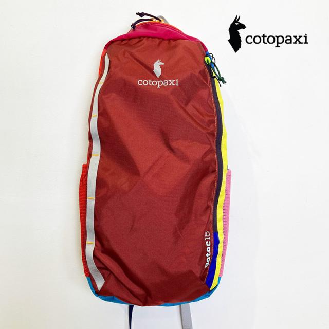 cotopaxi コトパクシ 5042505 BATAC 16L BACPACK A バックパック リュック サスティナブル ユニセックス ギフト | バッグ 定番