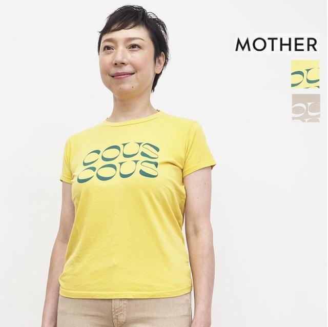 7/24販売開始【期間限定】【20%OFF】MOTHER マザー 8231-315 プリントTシャツ カットソー THE BOXY GOODIE GOODIE