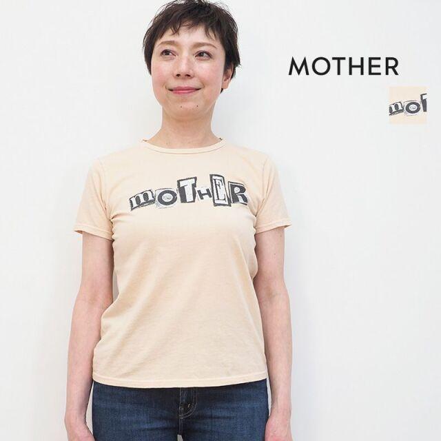 3/23販売開始【21SS新作】MOTHER マザー 8241-315 MOTHER ロゴ プリントTシャツ カットソー THE ITTY BITTY GOODIE GOODIE   21SS トップス 春夏