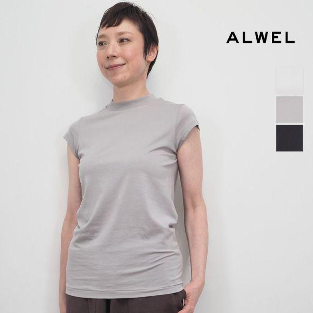 【20SS新作】ALWEL オルウェル DM-5 SHORT SLV T フレンチスリーブTシャツ カットソー | 20SS トップス 春夏