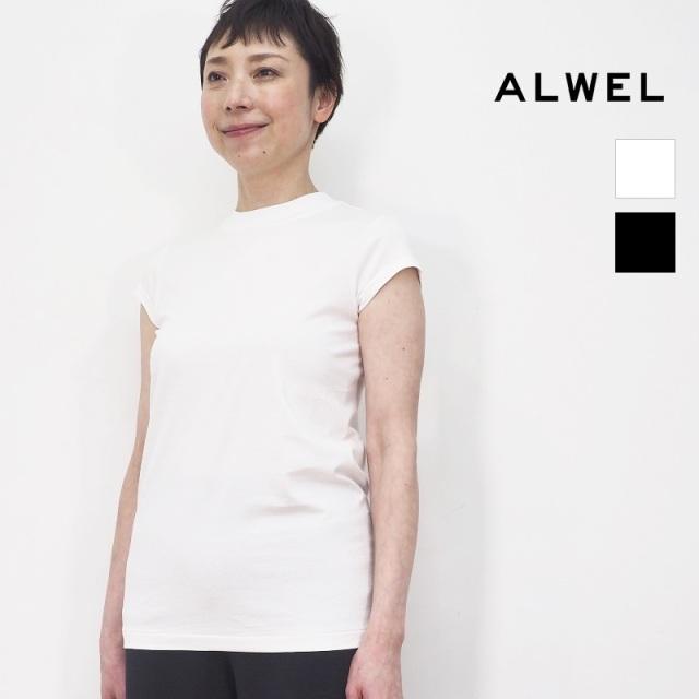 【再入荷】ALWEL オルウェル DM-5 SHORT SLV T フレンチスリーブTシャツ カットソー   定番 トップス 春夏