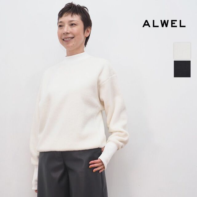【20AW新作】ALWEL オルウェル FLEECE-2 フリースプルオーバー スウェット FLEECE SHIRTS | 20AW トップス 秋冬