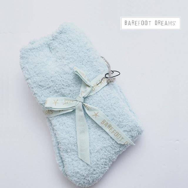 【期間限定販売】BAREFOOT DREAMS ベアフットドリームス レディースルームソックス プレーン Women's Socks 527 9910100084 モコモコソックス 女性用 ギフト プレゼント 靴下