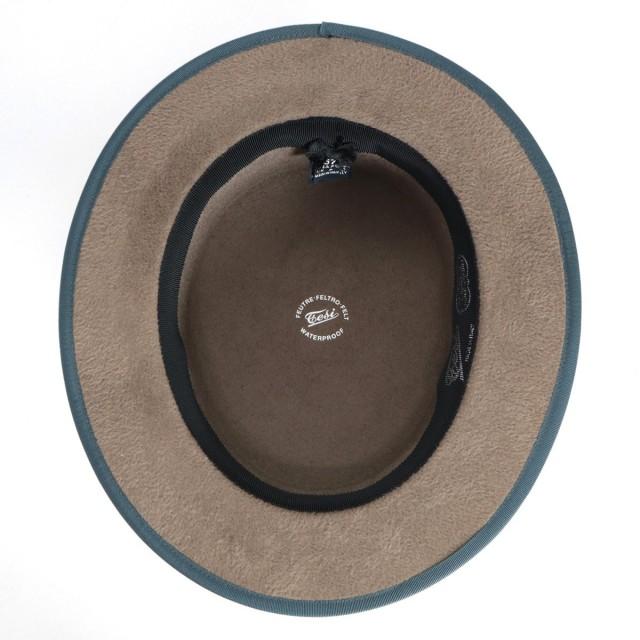 Tesi|テシファーフェルトハットLAPINAVANカーキモスグリーンブルービリジアン|帽子モヘアイタリアブランド