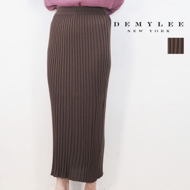 【20AW新作】DEMYLEE デミリー 3210500013 Viktoria Skirt リブニットタイトスカート | 20AW ボトムス 秋冬