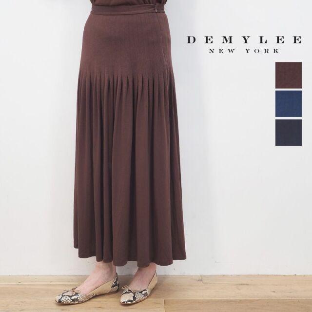 【20AW新作】DEMYLEE デミリー 3210500015 Jensen Skirt フレアヘムロングスカート | 20AW ボトムス 秋冬
