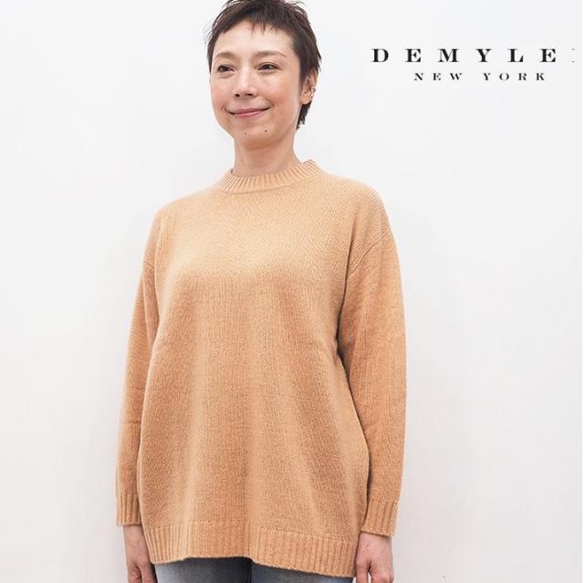 【40%OFF】DEMYLEE デミリー クルーネックカシミヤニットプルオーパー セーター  3210800043 Paula Sweater | 20AW トップス 秋冬