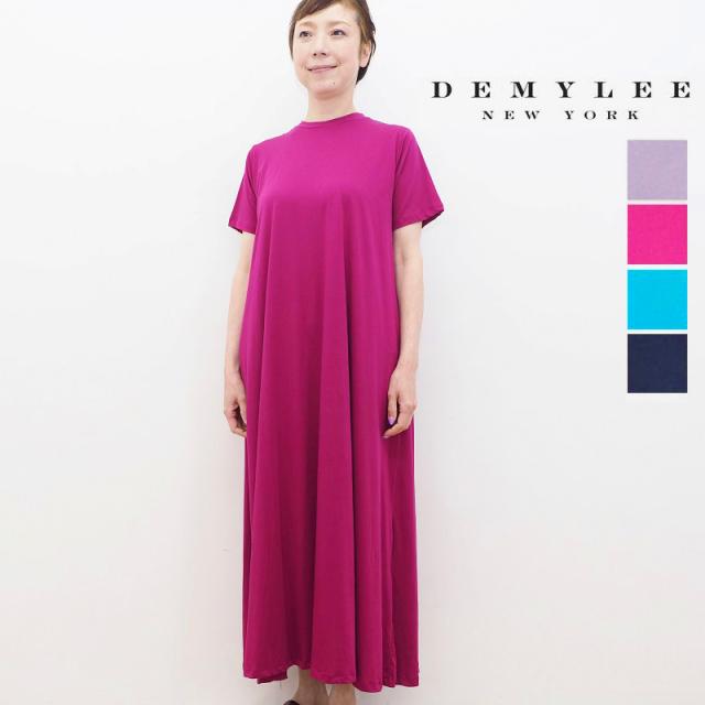 【30%OFF】DEMYLEE デミリー Sarah Dress スーピマコットンロングフレアワンピース 3310300158 | 春夏 21SS