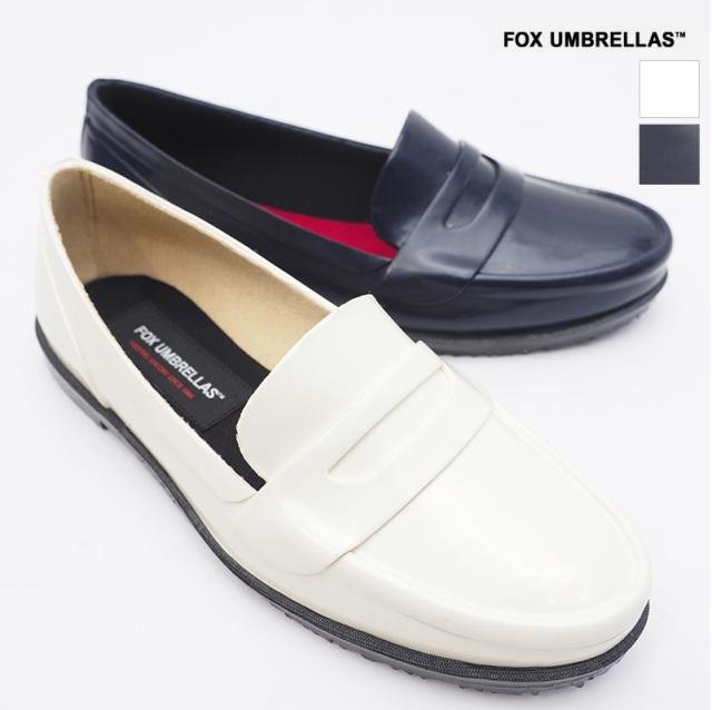 FOX UMBRELLAS フォックスアンブレラズ SS21-03W WOMEN'S LOAFERS レインローファー レインシューズ 雨靴 ラバーシューズ | 21SS シューズ 春夏