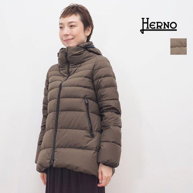 【20AW新作】【正規品】HERNO ヘルノ PI079DL ラミナーショートダウンジャケット ゴアテックス | 20AW アウター 秋冬