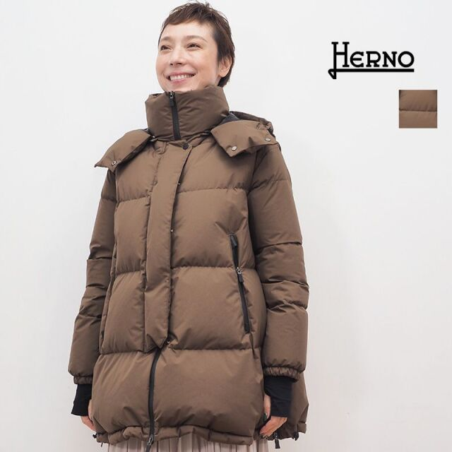 【20AW新作】【正規品】HERNO ヘルノ PI128DL オーバーサイズラミナーダウンジャケット ゴアテックス | 20AW アウター 秋冬