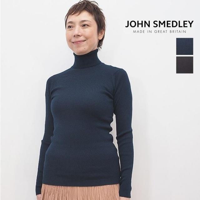 【40%OFF】JOHN SMEDLEY ジョンスメドレー MASSEY リブニットタートルネックプルオーバー | 20AW トップス 秋冬