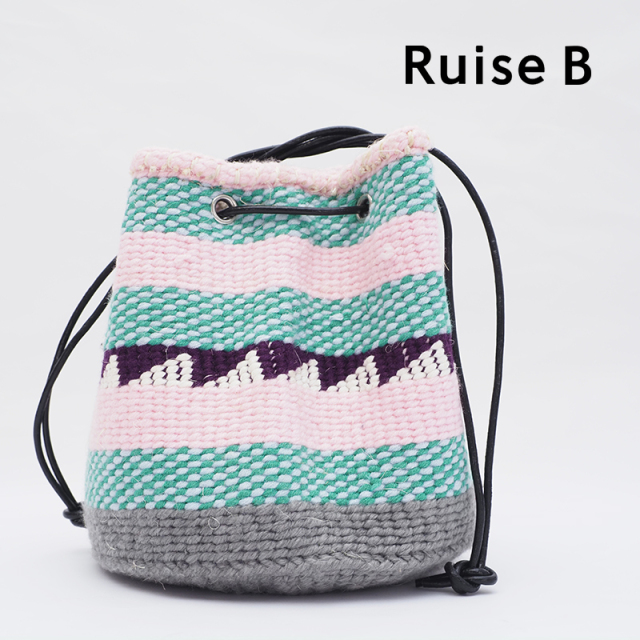 Ruise B ルイズビー ケニア バケツ型巾着ショルダーバッグ KNWO-ASS-NPO C | 21SS バッグ 春夏