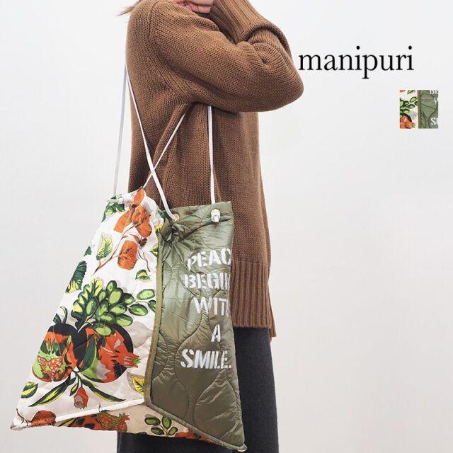 【40%OFF】manipuri マニプリ 0103252103 プリントトートL AUTUMN ボタニカルフルーツ | 20AW ファッショングッズ 秋冬