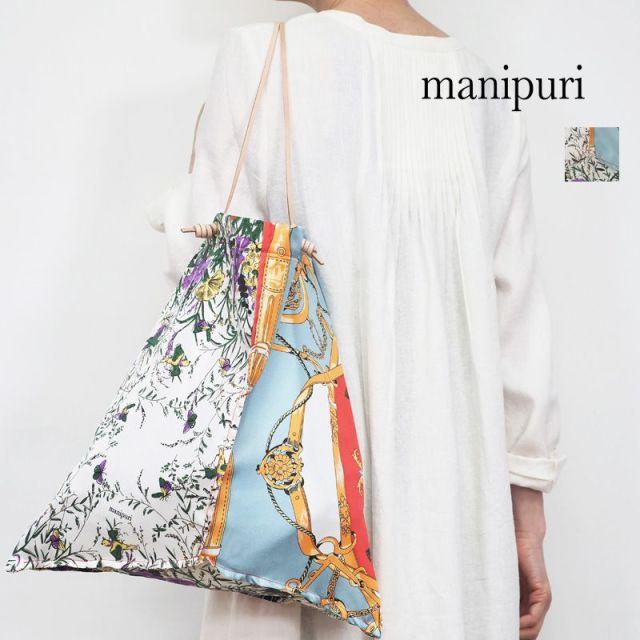 【20SS新作】manipuri マニプリ 0101252107 プリントトートL PRADISE トートバッグ パラダイス | 20SS バッグ 春夏
