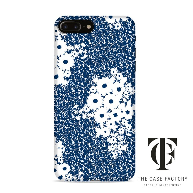 THE CASE FACTORY×AFCP(Art For Case Project) ザ ケースファクトリー FLOWER iPhone7/iPhone8ケース ブルー|コラボアイテム アイフォンケース