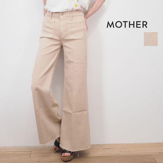 【40%OFF】MOTHER マザー 1975-802 KKY THE PATCH POCKET ROLLER FRAY ハイライズワイドデニムパンツ ポケット ジーンズ カットオフ | 20SS ボトムス 春夏