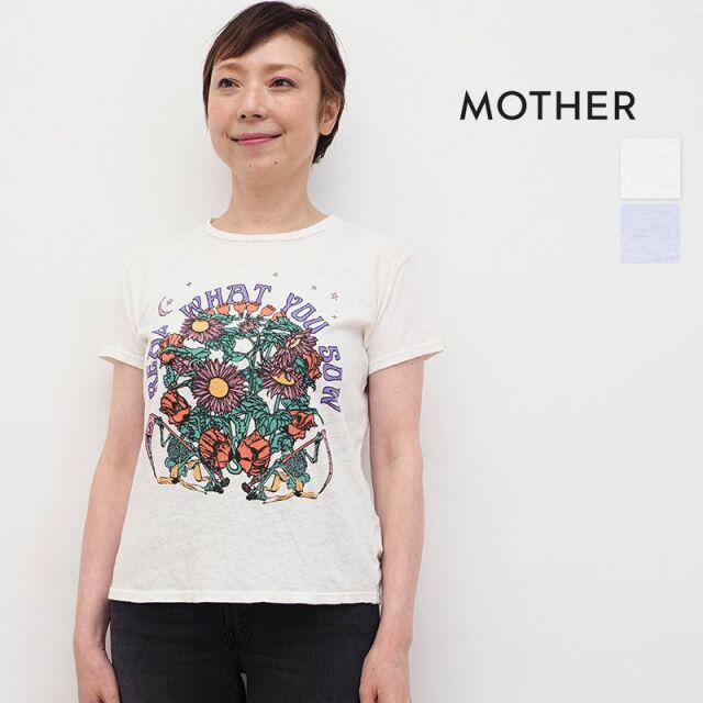 5/21販売開始【21SS新作】MOTHER マザー 8591-483 THE SINFUL フラワーイラスト プリントTシャツ | 春夏 トップス 21SS