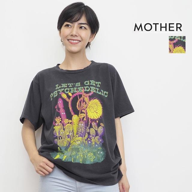 【21AW新作】MOTHER マザー 8671-865 LGP サイケデリックプリントTシャツ THE ROWDY   21AW トップス 秋冬