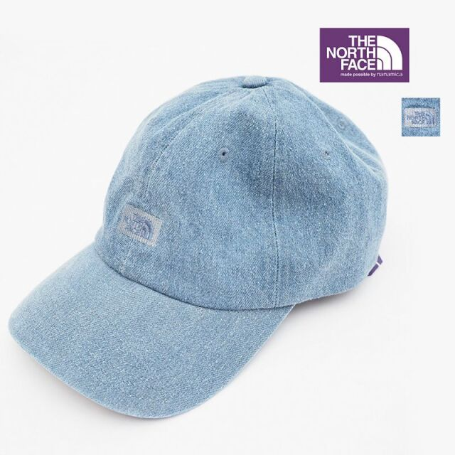 【正規品】THE NORTH FACE PURPLE LABEL ノースフェイス パープルレーベル NN8102N デニムフィールドキャップ 帽子 Denim Field Cap | ファッショングッズ 春夏 21SS