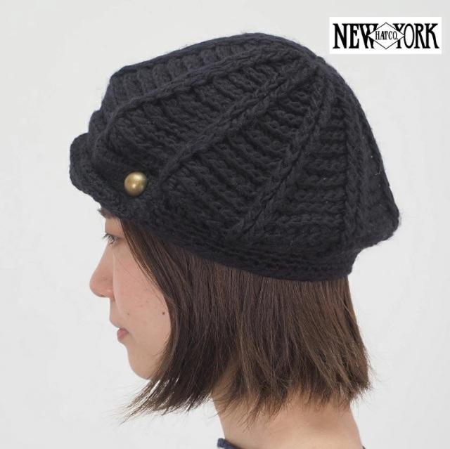 【60%OFF】【ゆうパケット可】NEW YORK HAT ニューヨークハット 4009 二ットベレー帽 キャスケット ハンチング|帽子