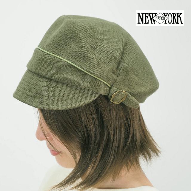 【60%OFF】NEW YORK HAT ニューヨークハット 4037 コットンニットキャスケット ハンチング 帽子