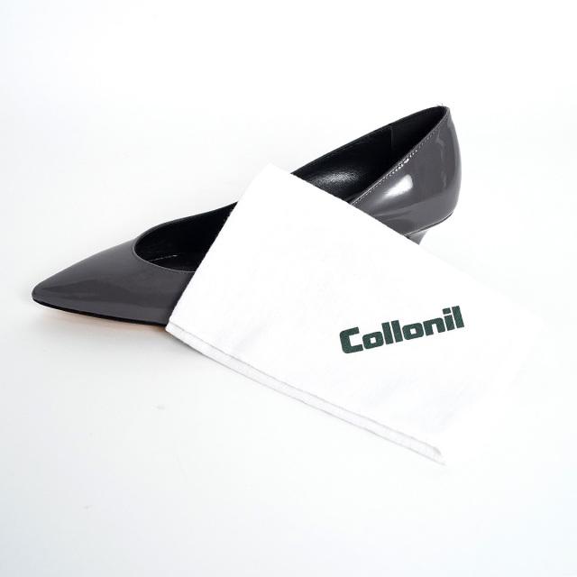 COLLONIL コロニル ポリッシングクロス 34cmx34cm | コットン スムースレザー 靴ケア用品 乾拭き