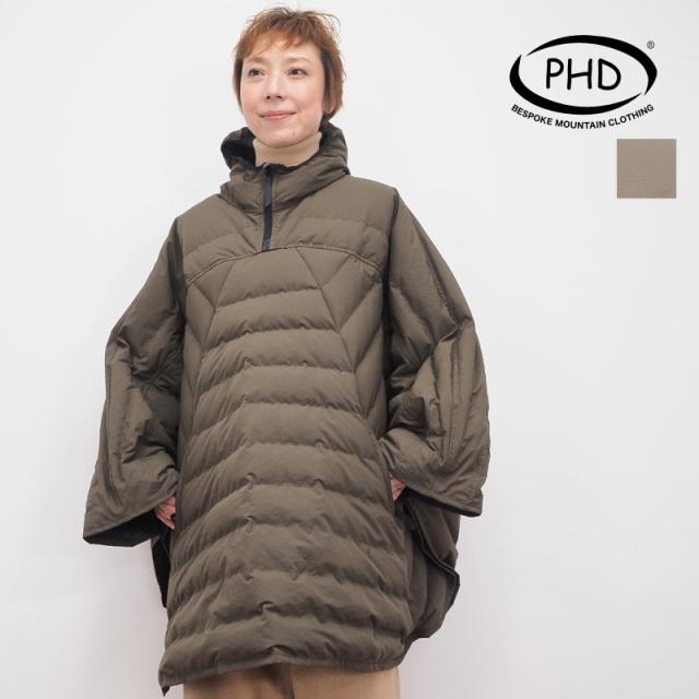 P H DESIGN ピーエイチデザイン ダウンポンチョ ケープ コート PHD19AW20|秋冬 アウター 19AW