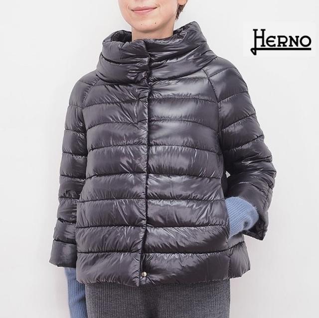 【正規品】HERNO ヘルノ PI0046DIC ビッグシルエットライトダウンジャケット ICONICO | 秋冬 アウター 20AW