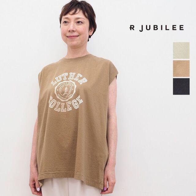4/22販売開始【21SS新作】RJUBILEE アールジュビリー RJ2007 9043 オーバーサイズノースリーブプリントTシャツ SleevelessOverTee | トップス 春夏 21SS