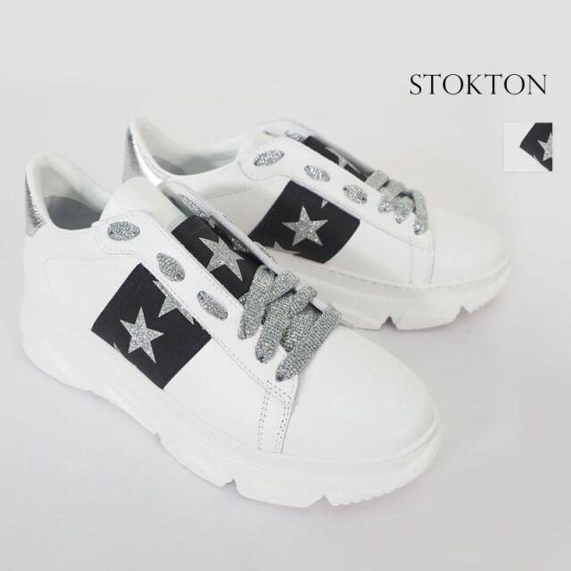 【20SS新作】STOKTON ストックトン 650D-20SS メタリック 星柄 ダッドスニーカー| 20SS シューズ 春夏