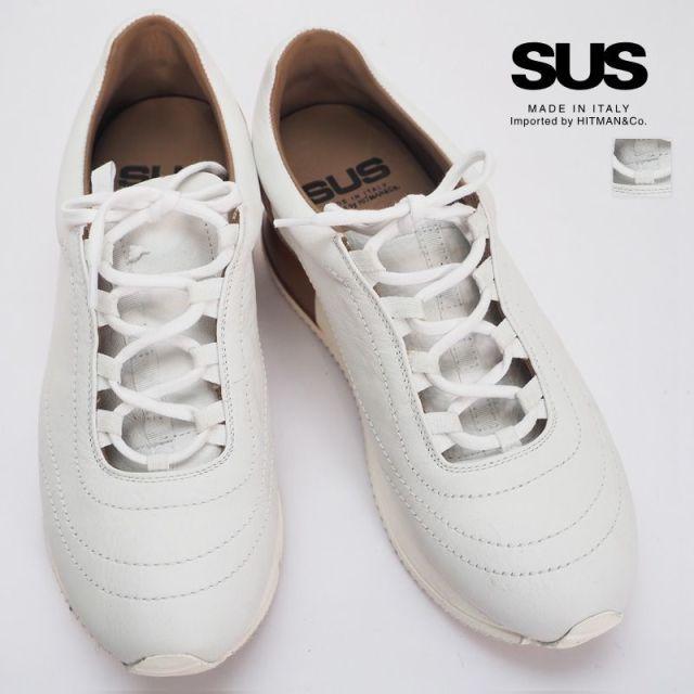 【20SS新作】SUS サス インヒールバイカラーレザースニーカー STTW0955STC | 20SS シューズ 春夏
