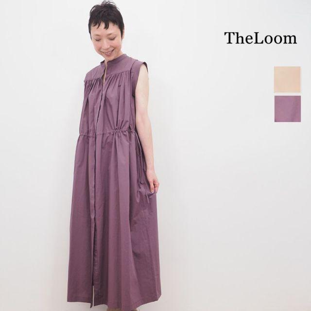 【20SS新作】TheLoom ザルーム 0691-1410 ウェストコード シャーリング シャツワンピース | 20SS 春夏