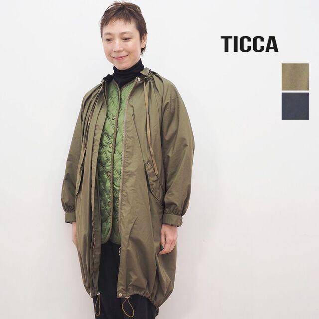 【40%OFF】TICCA ティッカ TBKA-101 3WAYモッズコート | 20AW アウター 秋冬