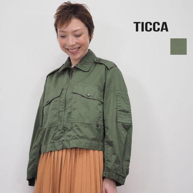 【20SS新作】TICCA ティッカ TBKS-142 ミリタリーショートブルゾン | 20SS アウター 春夏