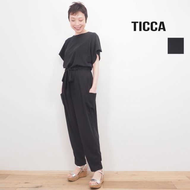 【20SS新作】TICCA ティッカ TBKS-654 オールインワン コンビネゾン サロペット
