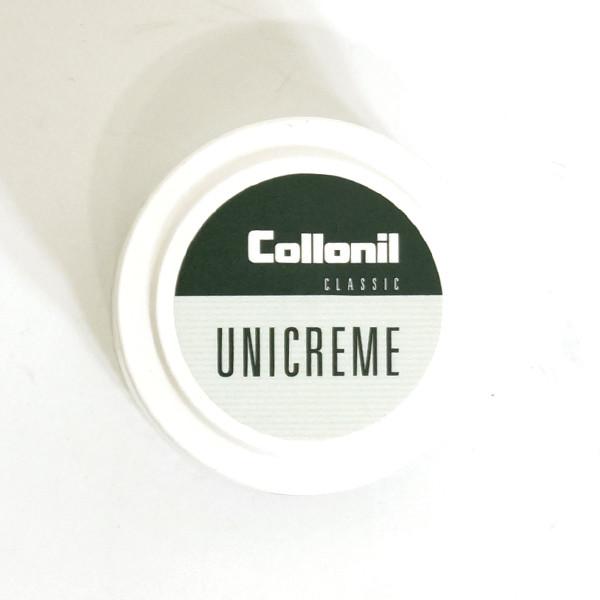 COLLONIL(コロニル)UNICREME ユニクリーム 50ml クリーニングポリッシュ<br>≪汚れ落とし バックケア用品 靴ケア用品 スムースレザー 表革≫
